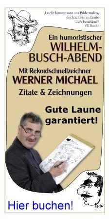 Humoristischer Wilhelm Busch Abend